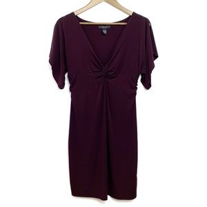 LAUNDRY BY SHELLI SEGAL Surplice Stretch Dress 8P